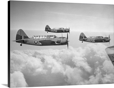 British Dive Bombers, over Bermuda