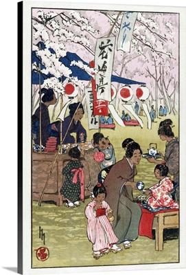 Cherry Blossoms, c1914