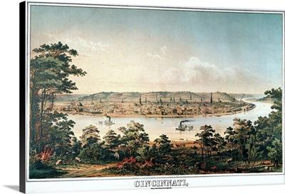 Cincinnati, Ohio, c1856