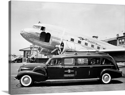 Douglas DC-3 Aircraft, American Airlines' 'Flagship Louisville'
