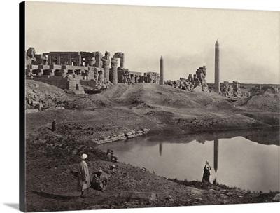 Egypt, Karnak Ruins, c1860