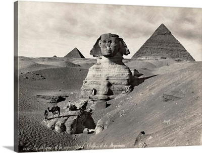 Egypt, Pyramids And Sphinx