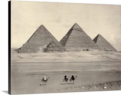 Egypt, Pyramids At Giza