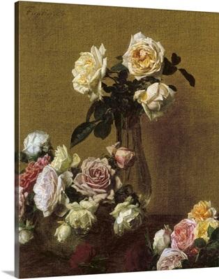 Fantin-Latour, Roses, 1884