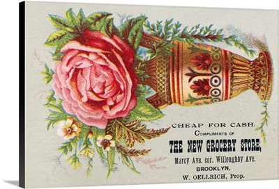 Florist Trade Card, C.1890