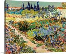 Garden At Arles, 1888