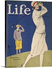Golfing: Magazine Cover