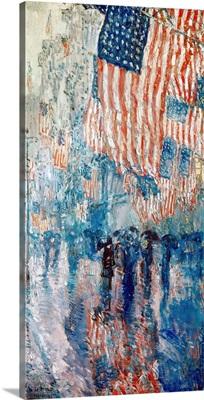 Hassam: Avenue In The Rain