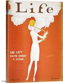 Held: Magazine Cover, 1925