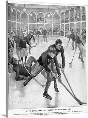 Ice Hockey, 1896