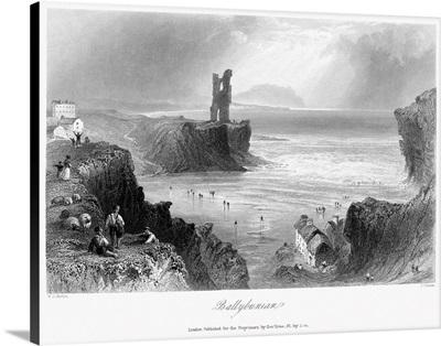 Ireland, Ballybunion, c1840