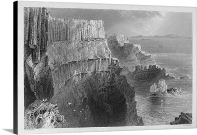 Ireland, Cliffs, c1840