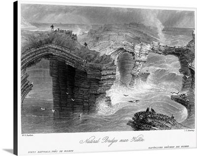 Ireland, Kilkee, c1840