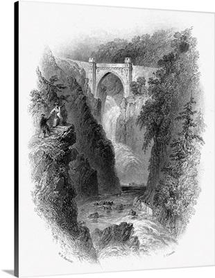 Ireland, Poulaphouca, c1840