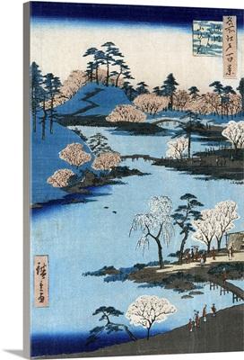 Japan, Hachiman Shrine, 1857