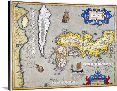 Japan, Map, 1606