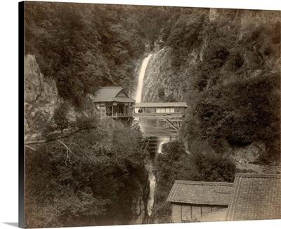 Metaki Falls At Kobe, Japan, 1890s