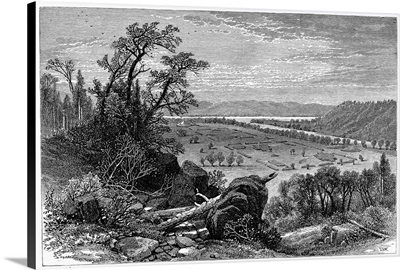 Mounds Constructed By Native Americans Near Marietta, Ohio
