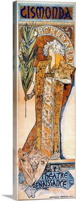 Mucha: Gismonda, 1894