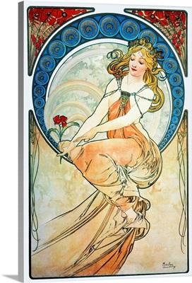Mucha: Poster, 1898