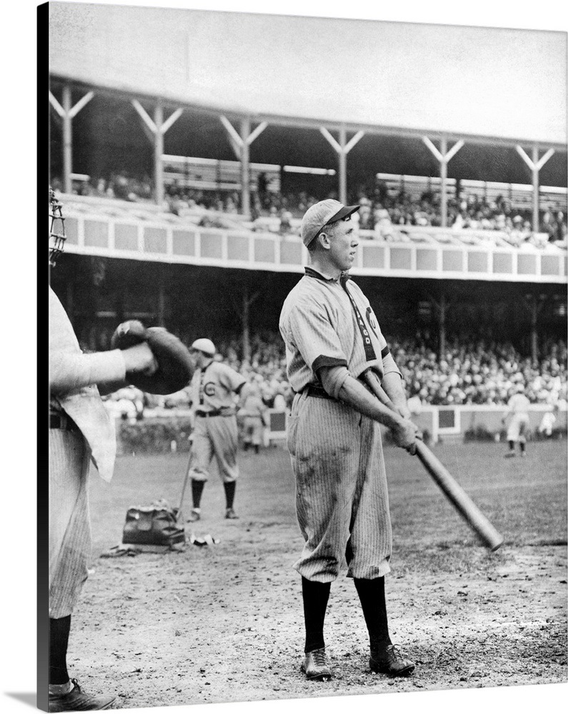6669c808 Patrick Joseph Moran playing for the Chicago Cubs, 1908