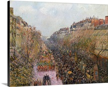 Pissarro: Mardi Gras, 1897