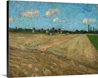 Plowed Fields At Arles, 1888