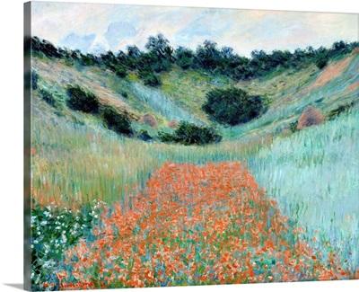 Poppy Field In A Hollow Near Giverny, 1885