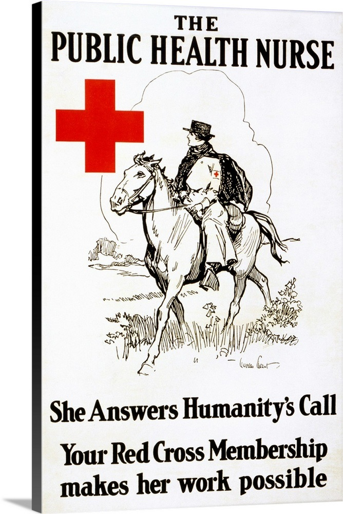 Red Cross Poster, 1917