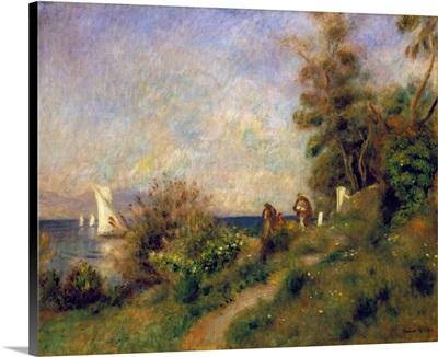 Renoir, Antibes, 1888