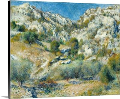 Rocky Crags At L'Estaque, 1882
