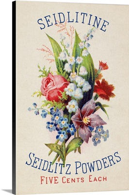 Seidlitz Powders Medicine Trade Card, c1880