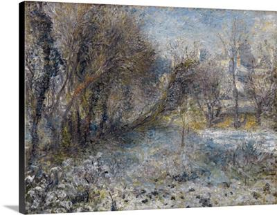 Snow Covered Landscape, c1870
