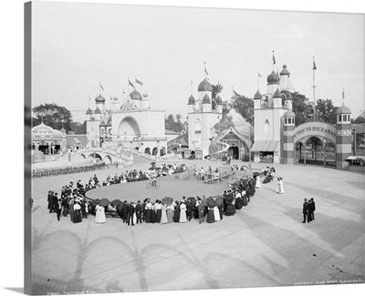The circus at Luna Park in Cleveland, Ohio, 1905