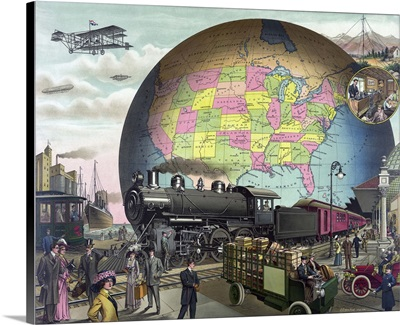 Twentieth Century Transportation, 1910