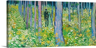 Undergrowth With Two Figures, 1890