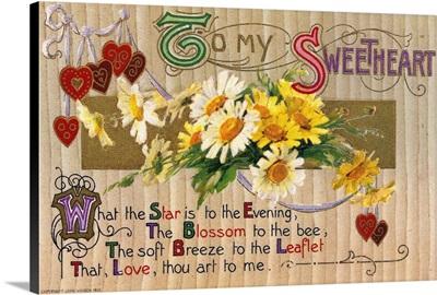 Valentine's Day Card, 1910