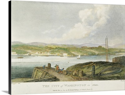 View Of the City Of Washington, D.C., As It Appeared In 1800