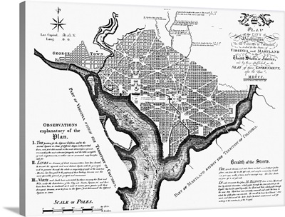 Washington, D.C. Plan, 1792