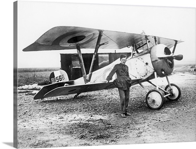 William Avery 'Billy' Bishop, Canadian World War I pilot and Air Marshal