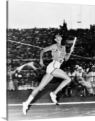 Wilma Rudolph, American track and field athlete