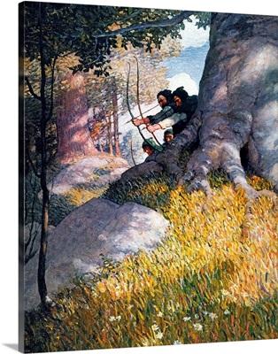 Wyeth: Robin Hood, 1917