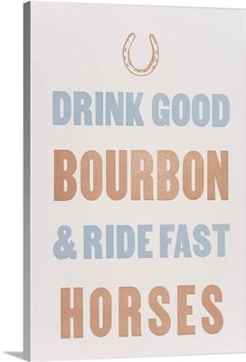 Bourbon Horses