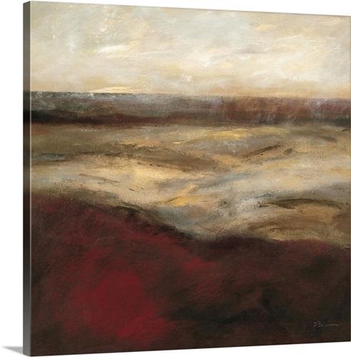 Dunes of brighton i canvas
