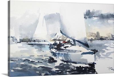 Sailboat in Sydney