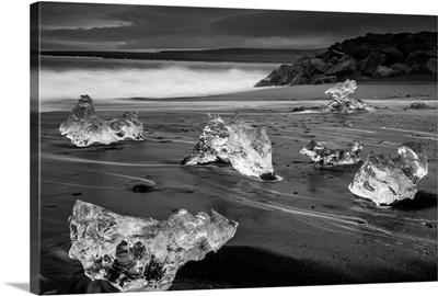 Black Sand Beach Ice