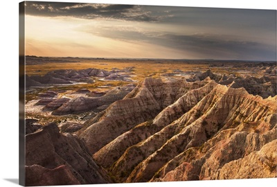 Dawn on the Badlands, South Dakota