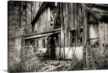 An old derelict barn