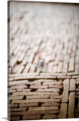 Ancient brick pavement, Alhambra, Granada, Spain
