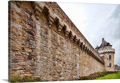 Battlements and Constable's Tower, town of Vannes, departament de Morbihan, France